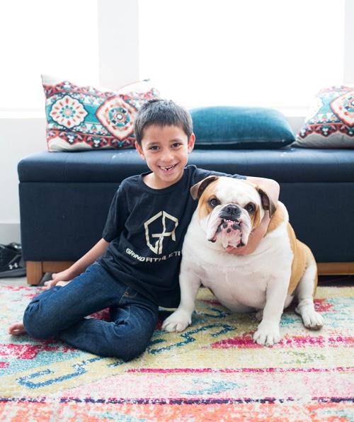 kid-and-dog
